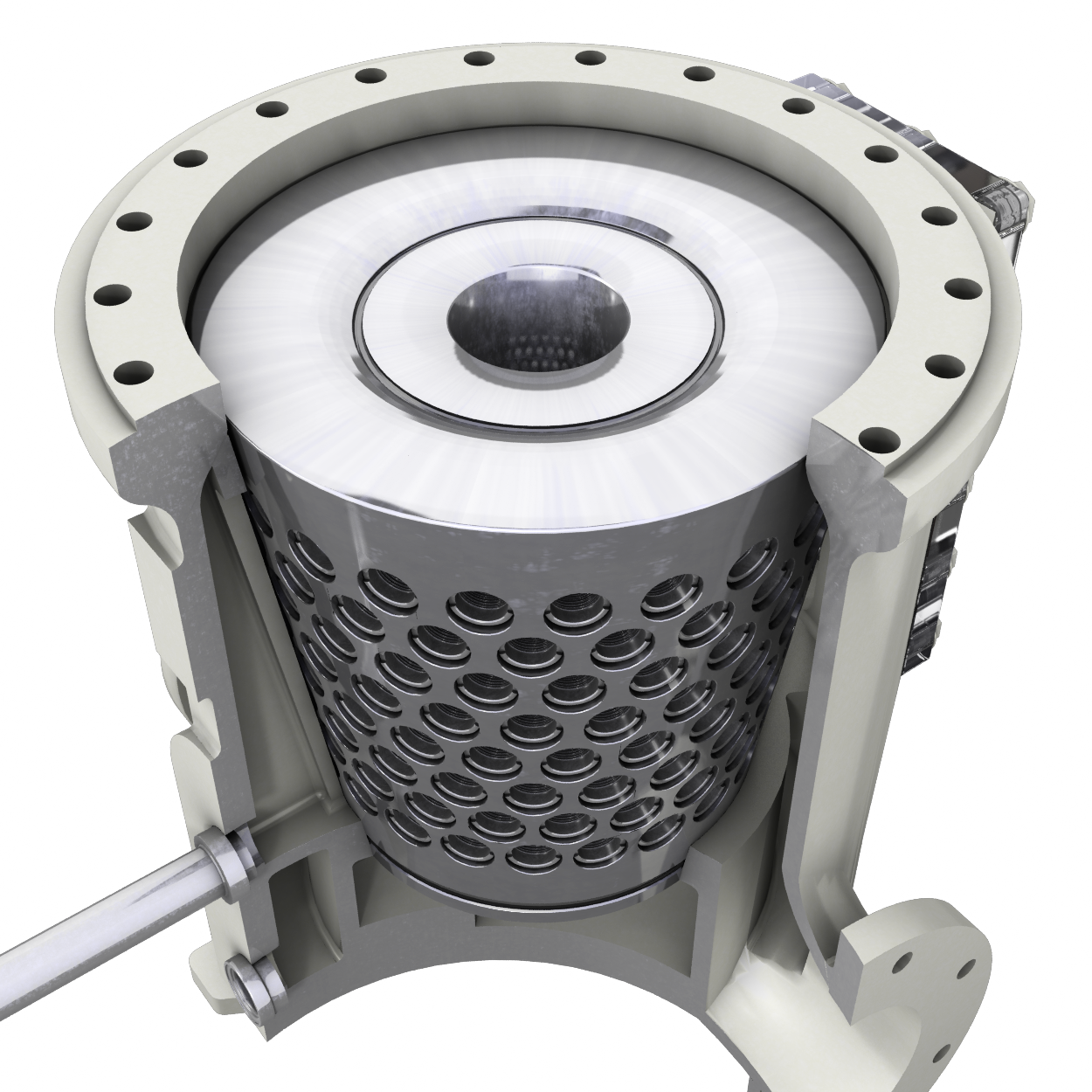 Model A Automatic Self-Cleaning Strainer